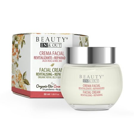 INOUT004 - Creme Facial Revitalizante Reparador Beauty In & Out