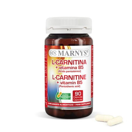 L-Carnitina + Vitamina B5 90 x 500 mg
