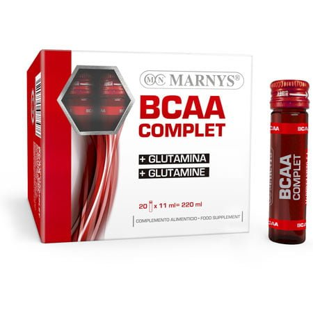 BCAA & Glutamina 20 x 11 ml